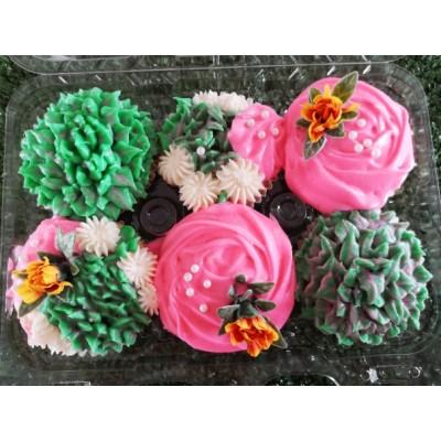 Cupcakes flowers (6)